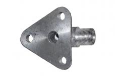 Фланец гидрораспределителя Р-80 сливной (угловой) Р-80-23.20.123-01
