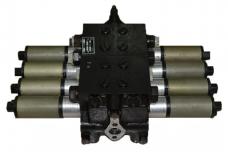 Гидрораспределитель Дон-1500 (4-секции) 4РЭ50-29 (73.00.00.000В-29) электромеханический