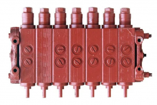 Гидрораспределитель Енисей (7-секций) ГА-34000 механический