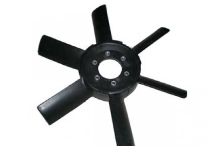 Вентилятор МТЗ пластиковый 6-лопастной 245-1308040-01. Пластик