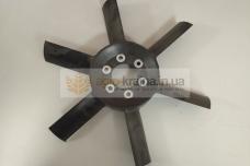 Крыльчатка вентилятора МТЗ 6 лопастная 245-1308010-01
