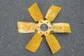 Вентилятор системы охлаждения МТЗ 245-1308040 (металлический, 6 лопастной)