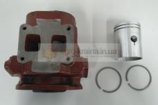 Цилиндр ПД-10 Р1 Д24-029-1 ремонтный с поршнем и кольцами