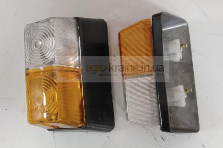 Фонарь ЮМЗ передний ПФ204-371200: металл, пластик
