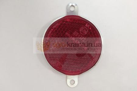 Красный катафот ЮМЗ круглый ФП-310-3.04.31.010