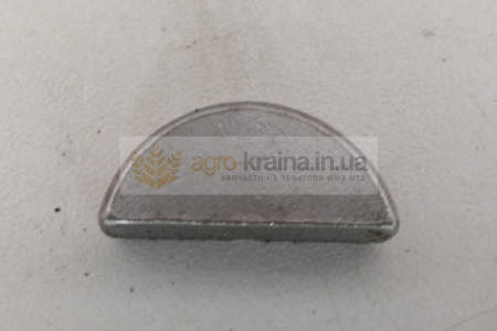 Шпонка сегментная вала коленчатого ЮМЗ Д-65 ШС6*10