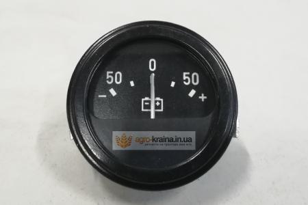 Амперметр ЮМЗ АП-111 (50-0-50) указатель тока