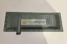 Бак радиатора нижний ЮМЗ Д65 (пластик, металл) 36-1301070