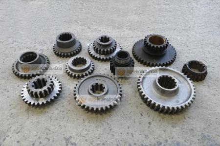 Полный набор шестерен коробки передач ЮМЗ (ЮжМаш, МЗШ)