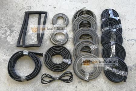 Полный комплект уплотнителей кабины ЮМЗ (набор резинок)