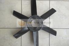 Крыльчатка вентилятора ЮМЗ (пластик) Д65-1308050П